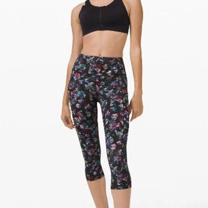 """NWT Lululemon Fast and Free HR Crop 19"""" ACFM"""